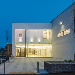 Sports Hall at Loreto Abbey Secondary School, Dalkey