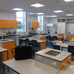 Science Labs Refurbishment at Loreto St Michaels Secondary School in Navan