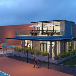 Planning Permission for the Redevelopment of Brookfield Lawn Tennis Club